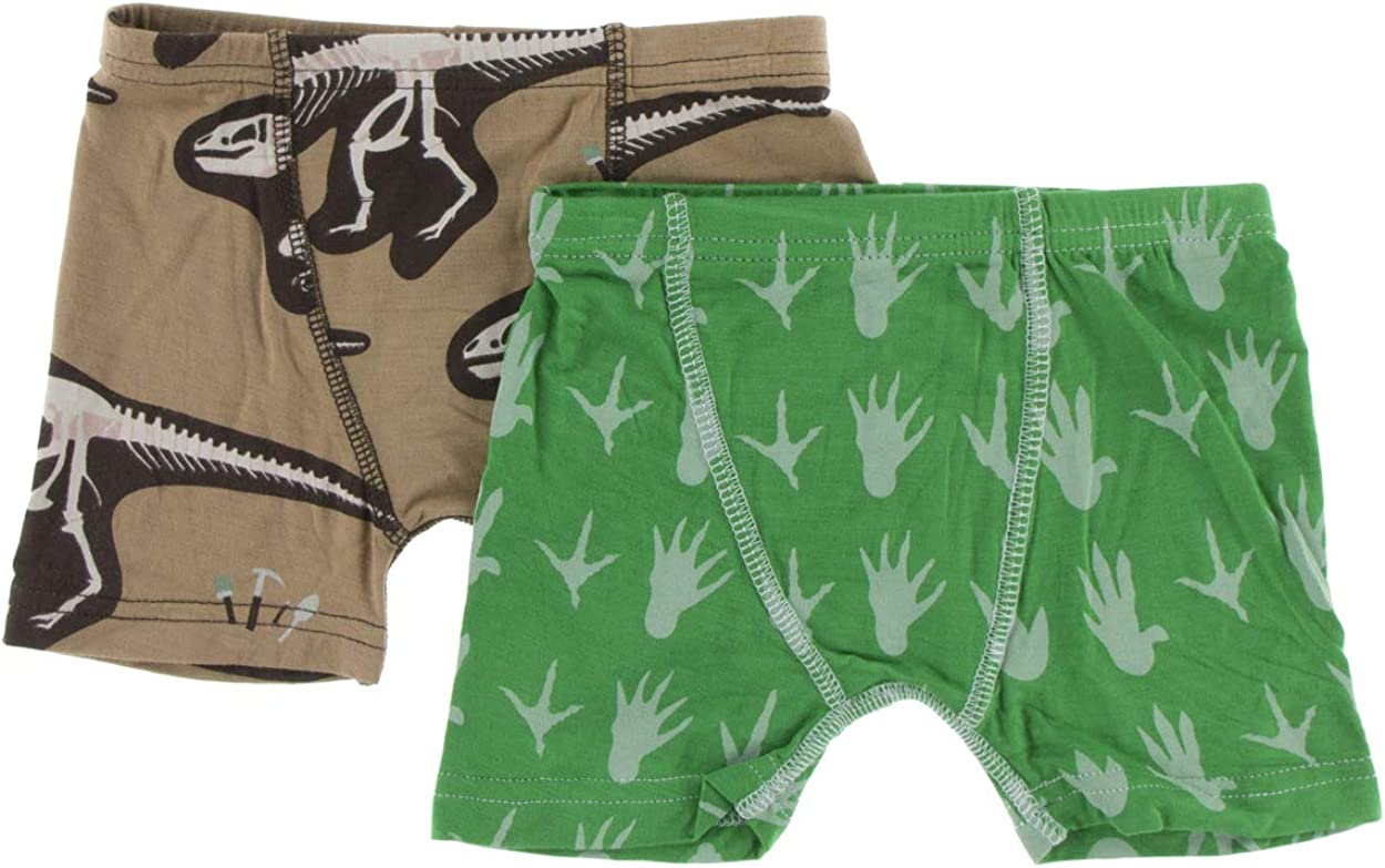 KicKee Pants Solid Boys Single Boxer Brief