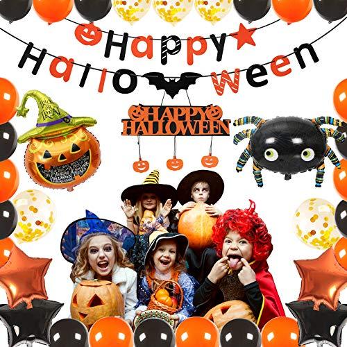 Globos halloween, Ainkedin 38 piezas Halloween decoracion ac