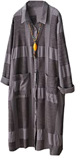 Minibee Women's Button Down Shirts Blouses Casual Loose Fit Tunic