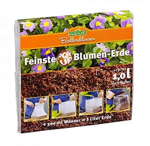 POP UP Erde für Zimmerblumen 1 L