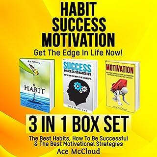 Habit, Success, Motivation: Get the Edge in Life Now! audiobook cover art