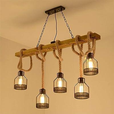 Luz Retro Suspensión Industria Antique Lámpara De Colgante Kl1F3cTJ