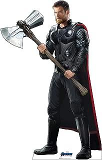 Advanced Graphics Thor Life Size Cardboard Cutout Standup - Marvel's Avengers: Endgame (2019 Film)