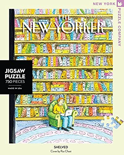 hasta un 60% de descuento New York Puzzle Puzzle Puzzle Company - New Yorker Shelved - 750 Piece Jigsaw Puzzle by New York Puzzle Company  nueva marca