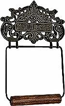 Princess Crown Toilet Tissue Holder Black Aluminum   Renovator's Supply