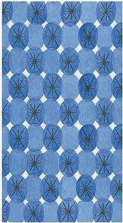 Caspari Blue, Le Moderne Paper Guest Towel Napkins, 15 Per Package