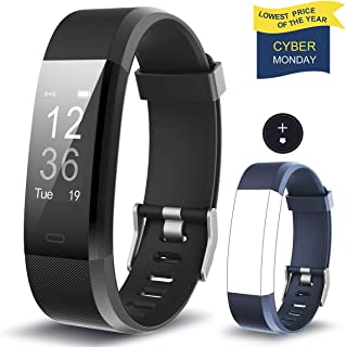 【Clearance Sale】Fitness Tracker HolyHigh YG3 Plus Heart Rate Monitor Activity Tracker Waterproof/Pedometer/Call Message Alert/Sleep Monitor/Calorie/for Android and iOS