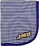 Creative Knitwear James Madison University JMU Striped Baby and Toddler Blanket