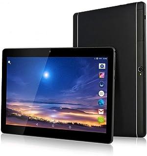 10インチ デュアルSIMカードスロット 3G タブレット PC 2G/32G Android 6.0 Octa Core タブレット 178度 IPS液晶/高画質1920*1200 / Simフリー/ 1.6Ghz/ GPS搭載 K107 (黒)