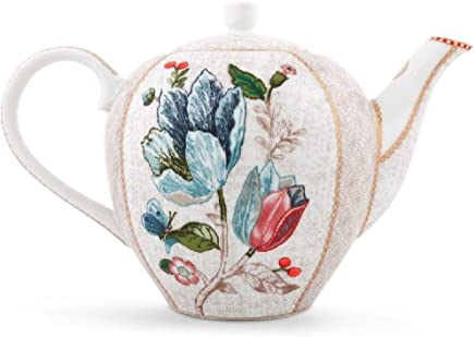 Preisvergleich für Pip Studio Tea Pot Spring to Life | off white | 1600 ml