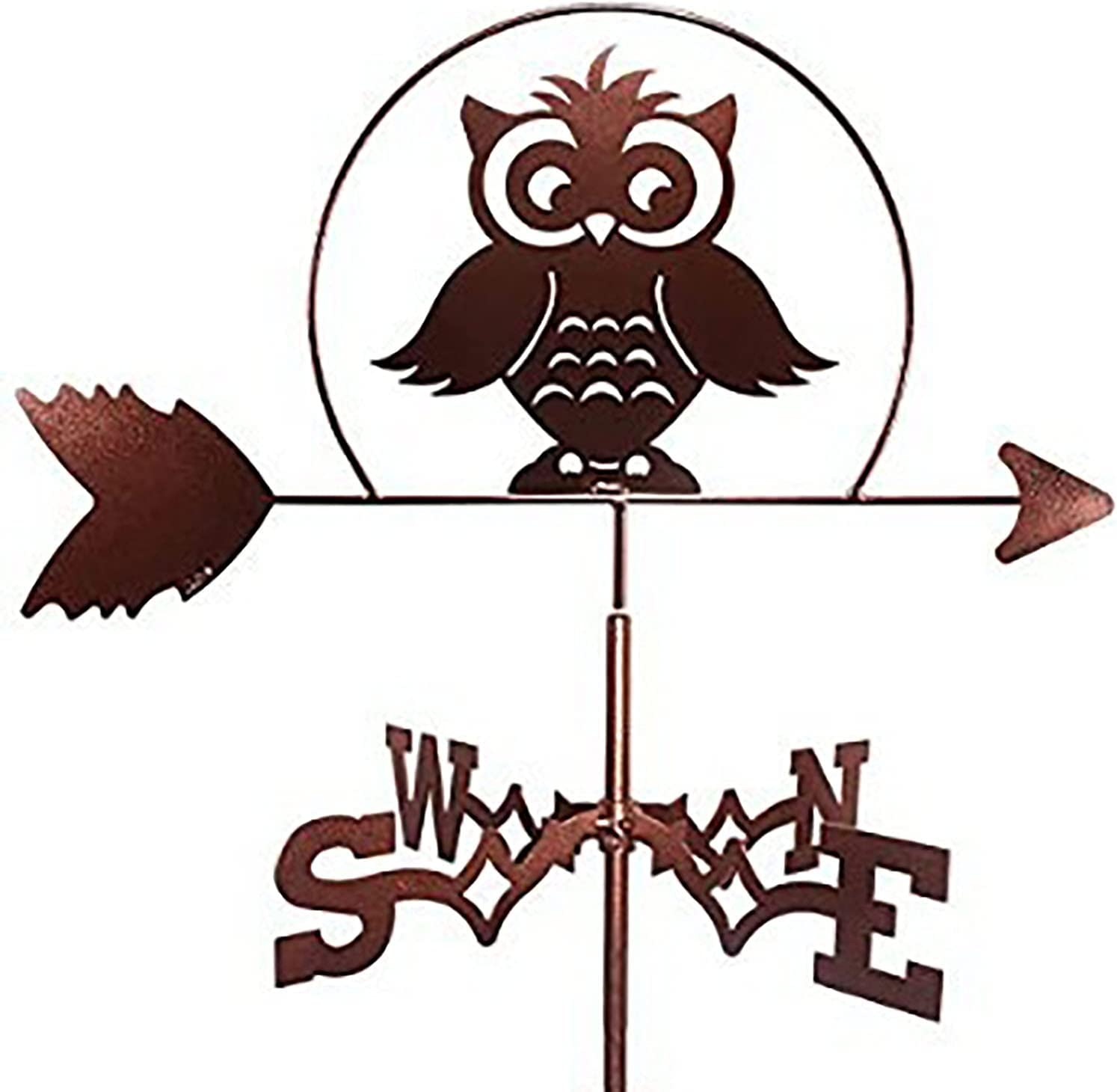 Ranking TOP11 BAIZAN Metal Weather Vane Vintage Weathervane Direction Wind Ind Fresno Mall