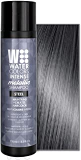 Water Colors Intense METALLIC Shampoo STEEL - 8.5oz