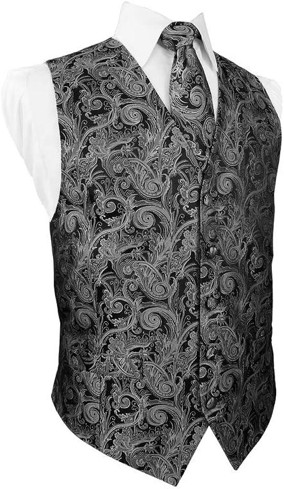 Cardi Tapestry 5-Piece Tuxedo Vest Set