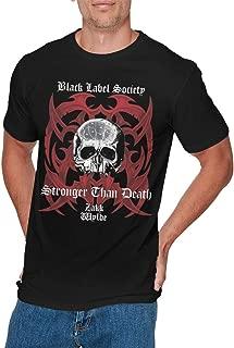 Mens Funny Black Label Society Tshirt Black