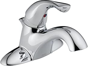 Delta 520-TP-DST Classic Single Handle Centerset Bathroom Faucet, Chrome