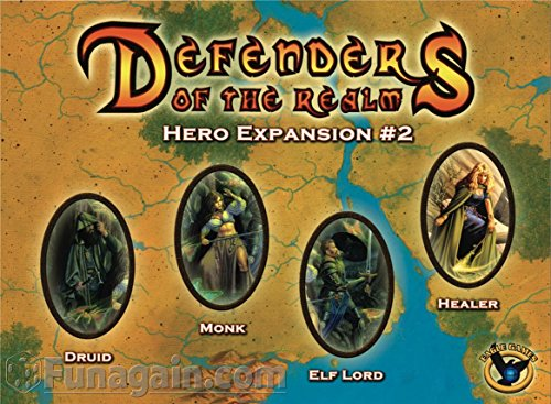 Eaglegames 1292 - Defenders of The Realm, Hero Expansion, 2