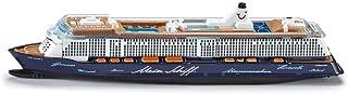 SIKU 1724 Passenger Ship Preassembled maqueta de Barco, Bote y Submarino - maquetas de Barcos, Botes y submarinos (1:1400, Passenger Ship, Preassembled, Metal, De plástico, Azul, Color Blanco)