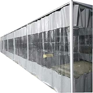 PVC Windshield 0,5mm Garage Insulation Curtain Windproof Waterproof Terrace Peripherals With Eyelets Used For Outdoor, Gar...
