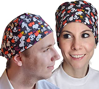 Meliza Working Cap Made of 100% Cotton, Adjustable, tie Back hat for Women and Men