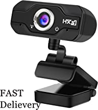 USB 2.0 720P 1080P HD Webcam Web Camera Video with Mic Microphone Clip-on for MSN Skype Desktops Computer PC Android TV (S50 720P)