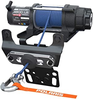 polaris pro hd 4,500 lb  winch with rapid rope recovery - rzr xp1000 xp4  2882240
