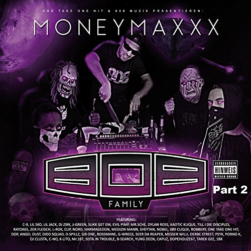 808 Possesong#1 (feat. Robert AK47, Lady Murda, C-9, Messer Willi, G-Wreck, Lil Sko, Lil-Jack, Zer.Fleisch, Psycho Pat, Porno K, Ratok65, K-Lito, Jesazz K, Seer Da Reaper, Haiyti, 3ple Ivan OG Mivan, D-Spillz, Psyk, Opti Mane, Harmagedon, Nord, SJB One, Bossmane, Dylan Ross, L-Rok, Spliff, Matrix, Kaoz, Sheytan & B-Search) [Explicit]