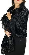 Beaurce Scialle in pelliccia sintetica da donna Avvolge Stola Coprispalle Mantello Cappotto Inverno Elegante Abito da sposa Coprispalle