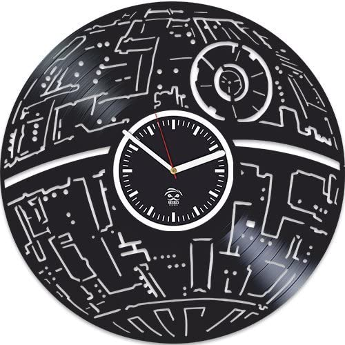 Kovides Star Wars Vinyl Record Clock Awakens The Direct sale of manufacturer Gi Limited time trial price Force Best