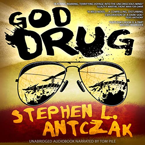 God Drug audiobook cover art