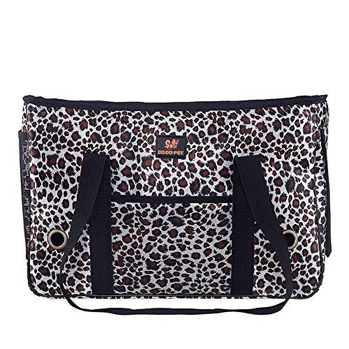 MGWA Cama para perro, bolsa plegable para mascotas, bolsa para mascotas, bolsa portátil para mascotas, bolsa de hombro (tamaño : L)