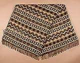 Mission Del Rey Southwestern Designer Alpaca Fleece Blanket 64x80