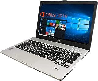 【Microsoft Office 2019搭載】【Win 10搭載】富士通 S904/H/第四世代Core i5-4300U 1.9GHz/新品メモリー:8GB/新品SSD:240GB/Webカメラ/HDMI/Bluetooth/USB 3.0/13.3インチWQHD液晶(2560×1440ドットト)/無線LAN搭載/中古ノートパソコン (SSD:240GB)
