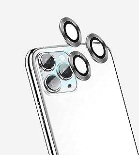 Green Anti-Glare Camera Glass Screen Protector for iPhone 11 - Silver