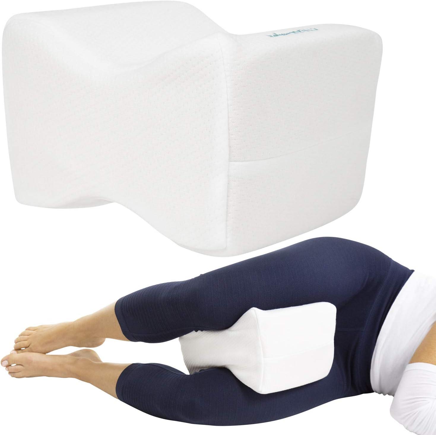 Xtra-Comfort Memory Foam El Paso Mall Knee Pillow Sciatica New popularity - Back Orthepedic