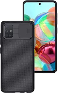 Nillkin Samsung Galaxy A71 Case [Camera Care Protection] Slide Protect Lens Camera Protection Cover for Samsung Galaxy A71