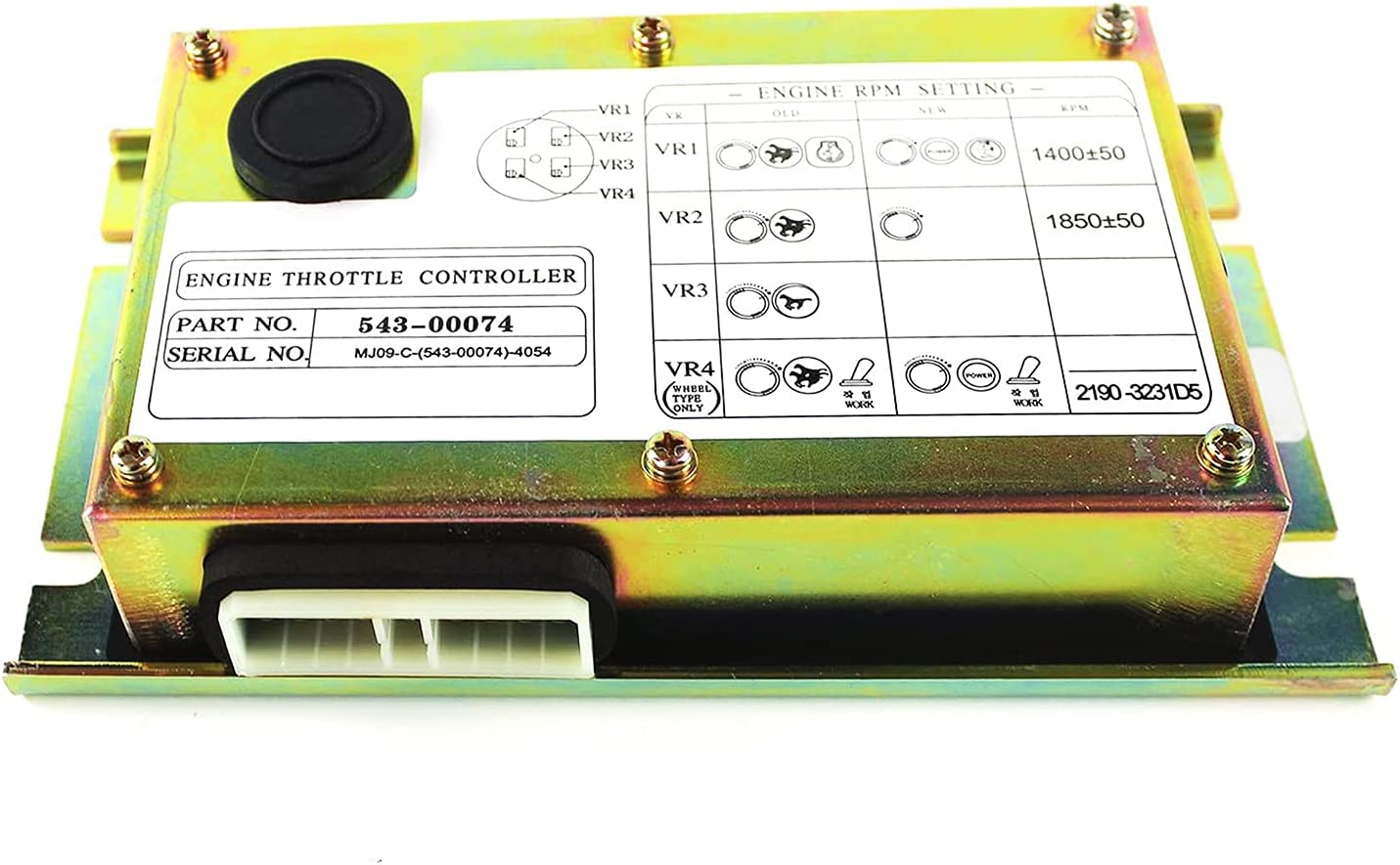 COPACHI 543-00074 Throttle Drive Board For New product! New type Fits DoosanDH220-5 S2 Max 77% OFF