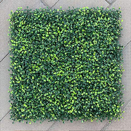 S SMAUTOP Artificial Boxwood Plank hedge Lawn Artificial Hedge Boxwood Fence Plant UV Protected Privacy Screen Use Suitable for greening boards, gardens, courtyards, and Home Greenery Decorations