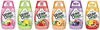 Sweetleaf Stevia Water Drops Natural Flavored Water Enhancer, Zero Calorie, Liquid Drink Mix Variety Pack, 1.62 ounce (Pack of 6)