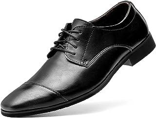[VITIST] ビジネスシューズ メンズ 革靴 紳士靴 高級靴 本革 就活靴 シークレットシューズ レースアップシューズ ビジネス ストレートチップ 防水 防滑 軽量 通気性 外羽