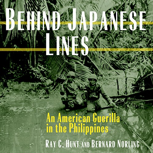 Behind Japanese Lines audiobook cover art