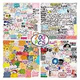 Inspirational Stickers, 200Pcs Vinyl Waterproof Inspiring Stickers Quotes for Laptop, Notebook Computer,Water Bottle, Luggage. Gifts for Kids, Women,Teens, Classmate, Colleagues,Adults