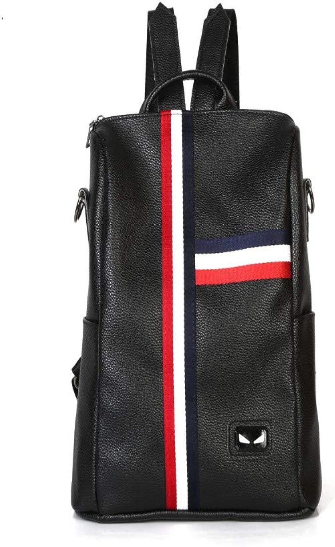 Iranio College Wind Casual Rucksack Damentasche, Schwarz B07QBMLP27  Mode-Muster