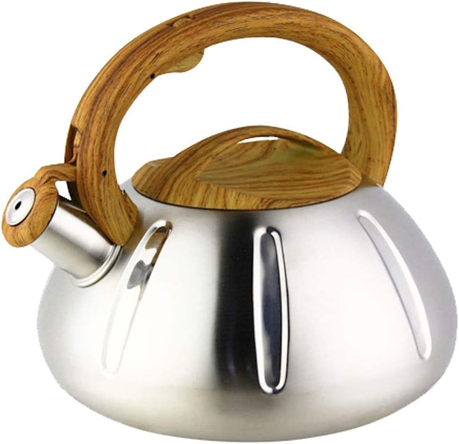 ZHM mart Stainless Steel Stove Top Whistling Kettle-Stainless Quantity limited Tea Ste