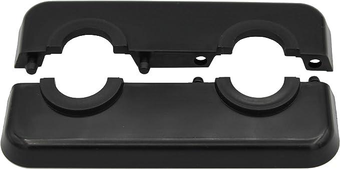 21,3mm Polypropylen in Sonderfarben 16mm Abdeckung f/ür Heizungsrohre 15mm, RAL 7035 15mm Heizung RAL 7035 18mm 2-teilig 10 St/ück Doppel-Rosette f/ür Heizungsrohre in Lichtgrau
