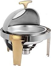XBSXP Chafing Dish, serveurs de Buffet et Chauffe-Plats, Chauffe-Plats électrique 6L pour Les fêtes et Les buffets, Chauff...