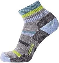 point6 37.5 Hiking Mixed Stripe Light Mini Crew Socks