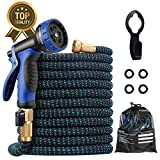 Expandable Garden Hose, 2020 Upgraded 75ft Water Hose with Superior Strength 3750D & 10 Fu...