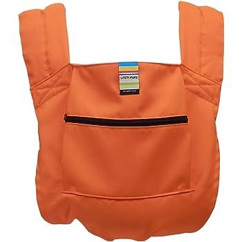 日本エイテックス キャリフリー ポケッタブルキャリー 抱っことおんぶで使える 軽量ポケッタブル抱っこひも オレンジ 01-108