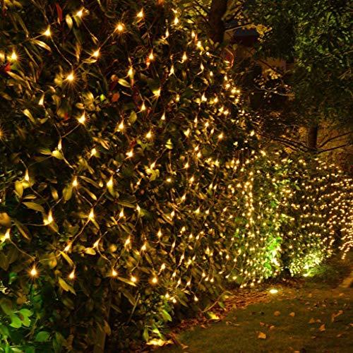 Kerstmis Fairy Lights Outdoor Decoratie, Indoor Net Gordijn Lampen, Mesh String Licht, 10m X 1m Verlichting Voor bomen Festival Kerk Bruiloft Tuin