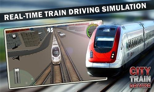 『City Train Driving Simulator』の3枚目の画像